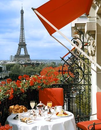 Plaza Athenee balcony. Photo: M. Kemp