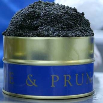 Caviar by Prunier. Photo: M. Kemp