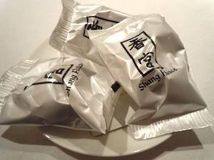 Shang Palace fortune cookies. Photo: M. Kemp