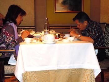 Shang Palace diners. Photo: M. Kemp