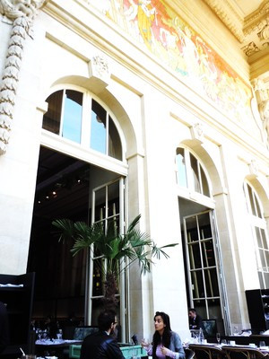 Mini Palais terrace