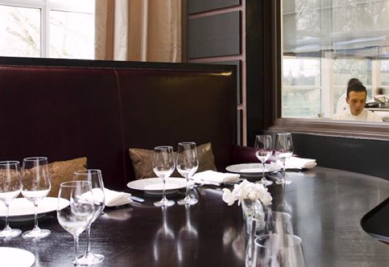 Chef's Table at Gordon Ramsay au Trianon. Publicity photo.