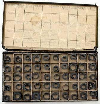 Box of Capa's film rolls Photo: ©NY Times-Tony Cenicola