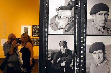 ©L'Express.fr photo of Capa Exhibit in Arles