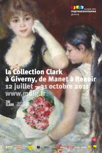poster, Clark Exhibit at Giverny Impressionism Museum 2011