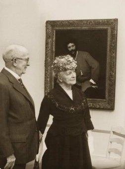 Sterling & Francine Clark in 1955. Photo: Sterling & Francine Clark Art Institute.