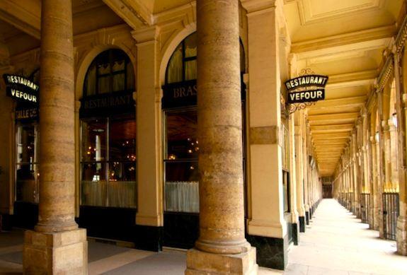Le Grand Véfour at Palais-Royal. Publicity photo.