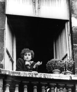 Colette at her second Palais-Royal apartment, circa 1944. Photo: Friends of Colette Society