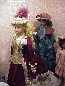 "Antique French Doll ""Courtesy of mharrsch from Flickr Creative Commons"""