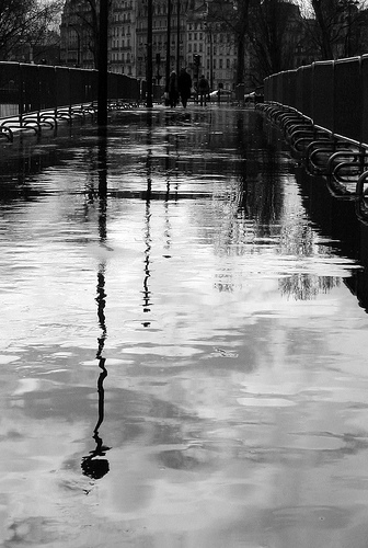 After the Rain, Paris. Photo credit: siutung/Flickr Creative Commons.