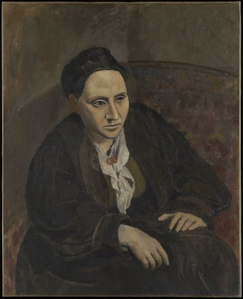 Pablo Picasso, Gertrude Stein, 1906. Huile sur toile, 10 x 81.3 cm. Metropolitan Museum of Art, New York, USA. ©Succession Picasso 2011