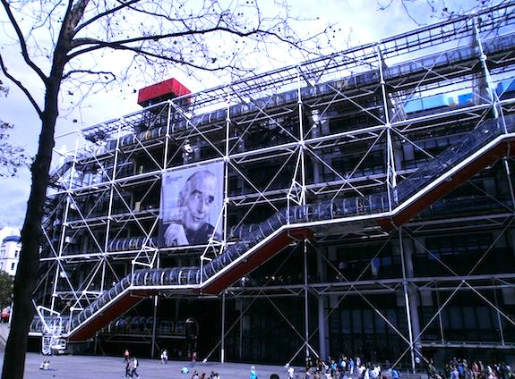 Centre Pompidou. Photo: Lindsey Marsh