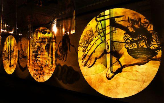 Nalini Malani Remembering Mad Meg, video shadow-play, 2007-2010 Courtesy of Galerie Lelong, Paris  ©Nalini ©Malani Payal Kapadia