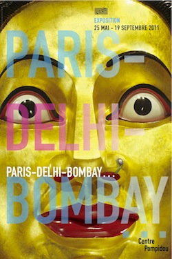 Poster for Paris-Delhi-Bombay. Courtesy Centre Pompidou & Collection Walsh Gallery, Chicago.