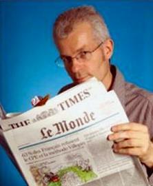 Author Stephen Clarke.