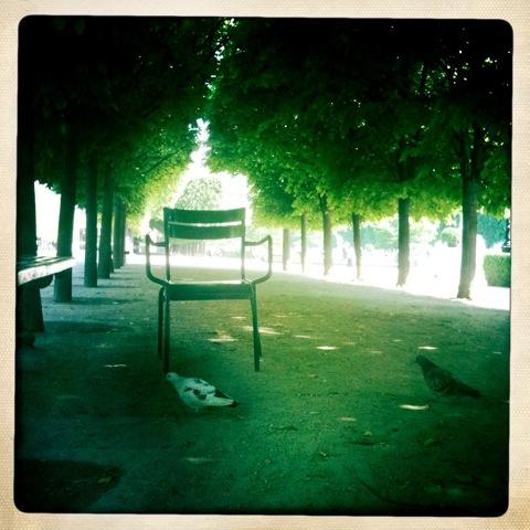 Palais Royal Gardens. Photo by Clay McLachlan