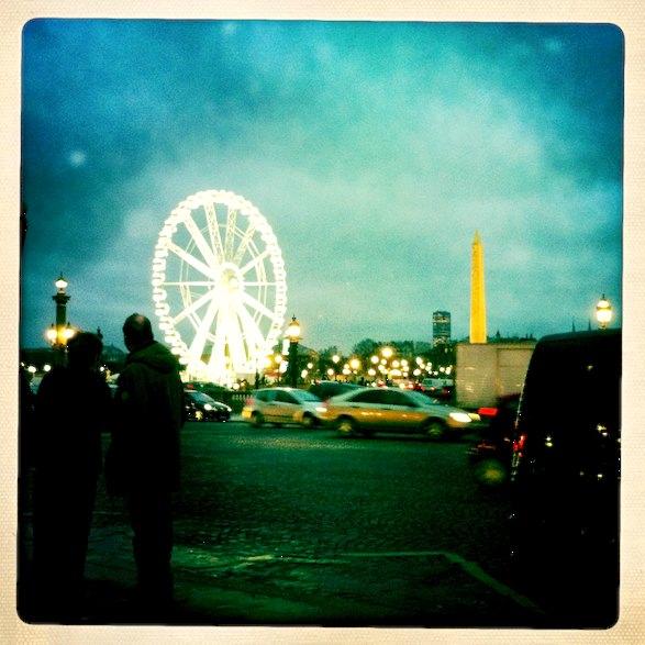 Place de la Concorde Ferris Wheel. Photo: ©Clay McLachlan 2012