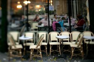 Café Les Deux Magots by Clay McLachlan