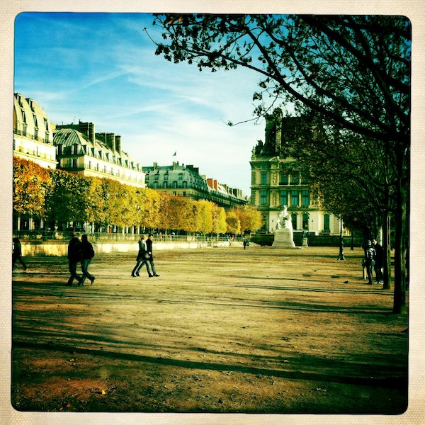 Jardin des Tuileries in autumn. ©Clay McLachlan 2011 ©claypix