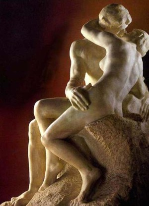 Auguste Rodin's Le Baiser