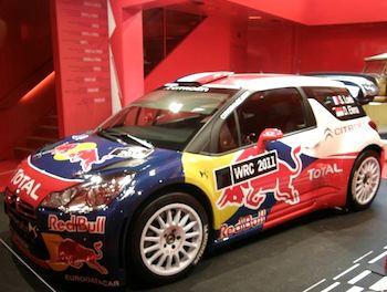 Citroen rally car. Photo: Norman Ball