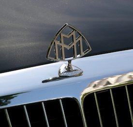 Maybach ornament. Photo: Norman Ball