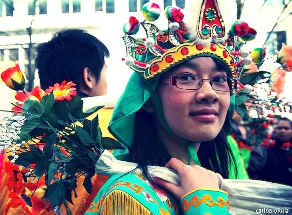 Chinese New Year parade Paris photos ©Carina Okula