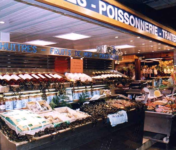 La Maree Beauvau fishmonger publicity photo