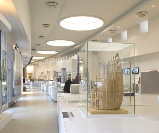 Interior, Cite de l'Architecture et du Patrimonoine. Photo credit: Nicolas Borel