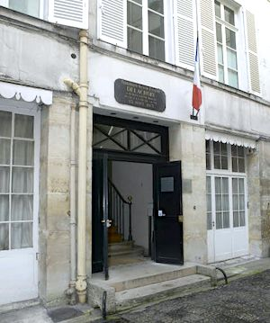 Musée Eugène Delacroix outer entry photo courtesy museum website