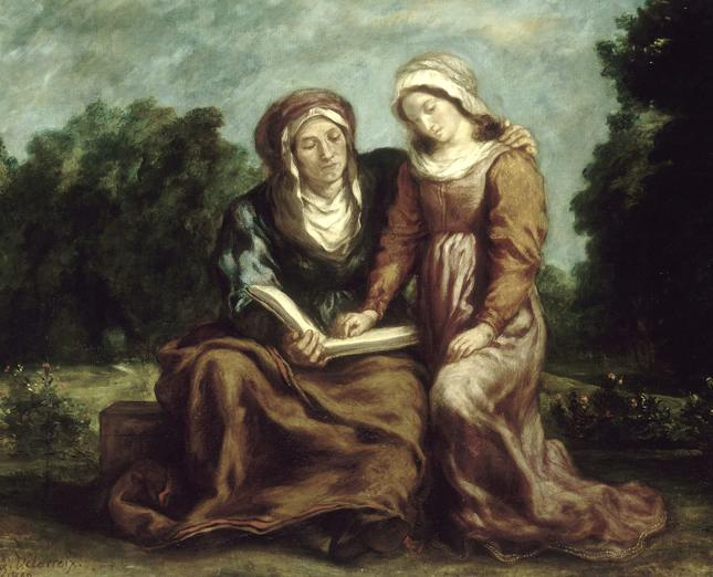 Education of the Virgin courtesy of museum website