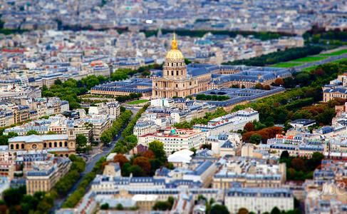 Invalides seen from Tour Montparnasse. Photo: tofman