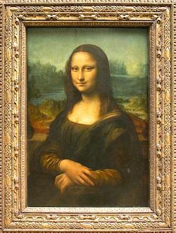 Portrait of Lisa Gherardini, wife of Francesco del Giocondo Leonardo di ser Pietro DA VINCI, known as Leonardo da Vinci  Photo: Musée du Louvre/A. Dequier - M. Bard