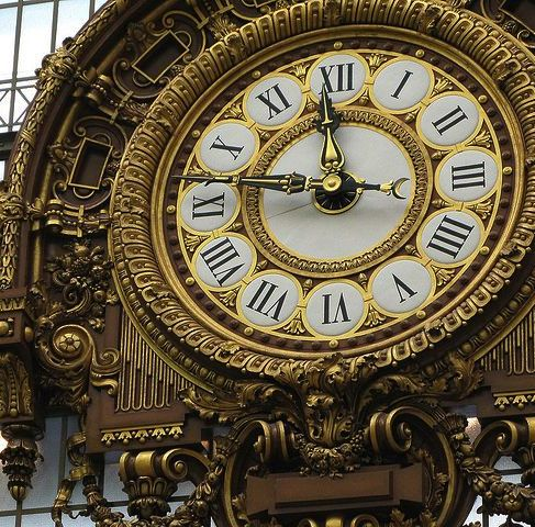 Orsay clock © David Dennis