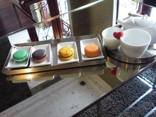 Macarons, Chez Charlotte, Paris. Photo credit: Sally Peabody.