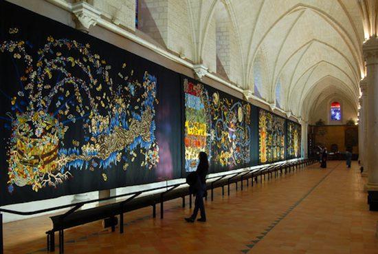 Conquete de l'espace by Lurçat courtesy of Musée Jean-Lurçat