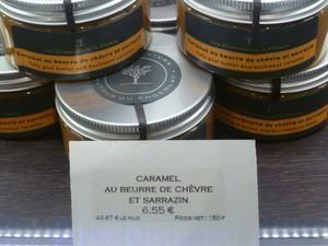 Caramel au Beure de Chèvre et Sarrazin. Photo courtesy Sally Peabody