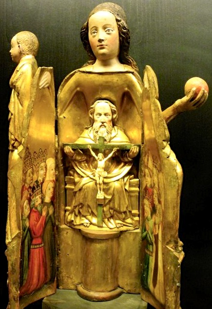 Vierge Ouvrant at Cluny Museum. Photo by S. Peabody.