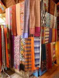 Scarves in an Istanbul market