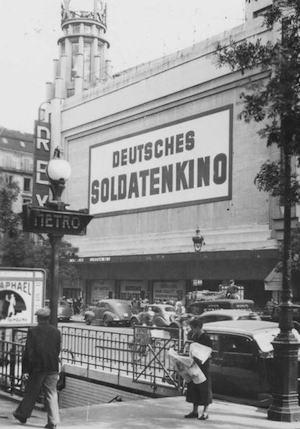 public domaine photo of Nazi Soldatenkino at Grand Rex