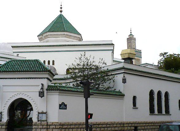 Grande Mosquee de Paris exterior