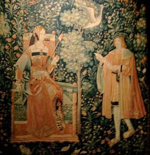 Tapestry, Musée National de Moyen Age