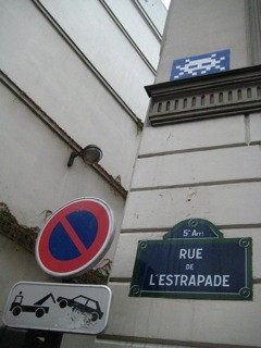 The Rue de L'Estrapade
