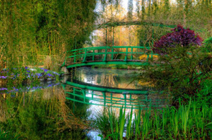 The Two Main Parts Of Monetu0027s Garden In Giverny Are A Flower Garden (Clos  Normand) At The Front Of The House And A Japanese Inspired Water Garden On  The ...