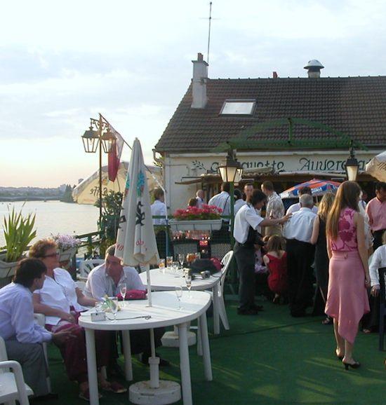 Guinguette Auvergnate terrace. Photo: Annabel Simms