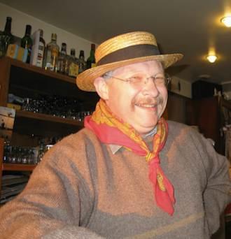 Patron at Guinguette Auvergnate. Photo: Annabel Simms