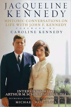 Historic Conversations on Life With John F. Kennedy. Photo: Hyperion Book cover.