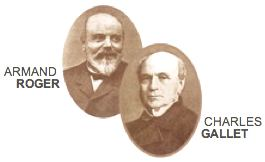 Company founders Armand Roger & Charles Gallet. Photo courtesy of Roger&Gallet