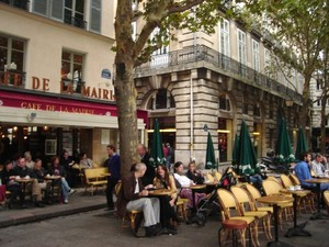 Café de la Mairie, Paris. Photo: Cathy Fiorello.