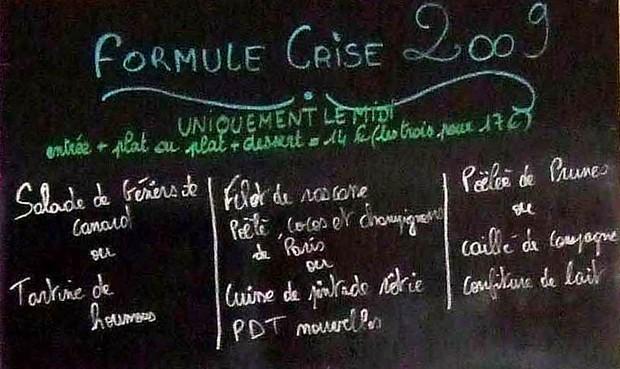 Formule midi, Cartouche Cafe, John Talbott